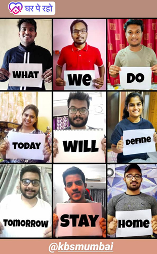 Online Awareness Campaign by KBS Students under DAYITVA - ISR -  KBS